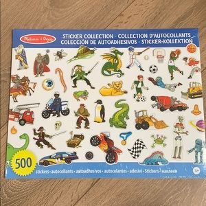 Brand New sealed Melissa & Doug sticker collection